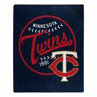 Minnesota Twins Moonshot Raschel Throw Blanket