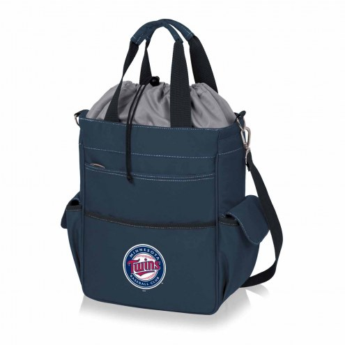 Minnesota Twins Navy Activo Cooler Tote