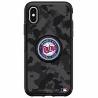 Minnesota Twins OtterBox Urban Camo Symmetry PopSocket iPhone Case