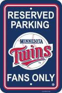 Minnesota Twins Parking Sign