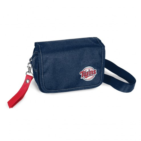 Minnesota Twins Ribbon Waist Pack Purse