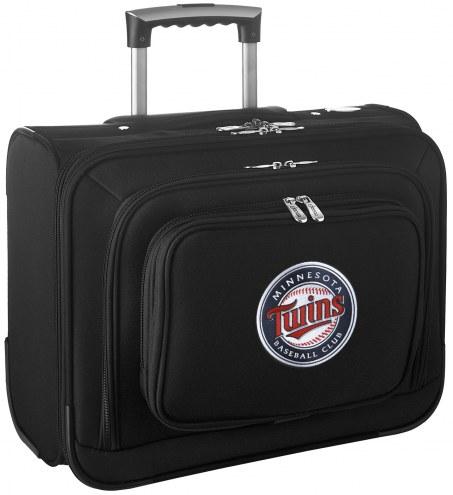 Minnesota Twins Rolling Laptop Overnighter Bag