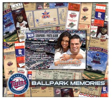 Minnesota Twins Scrapbook