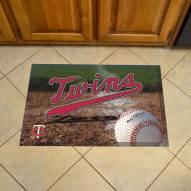 Minnesota Twins Scraper Door Mat