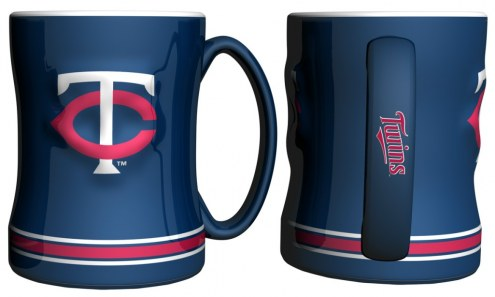 Minnesota Twins Sculpted Relief Coffee Mug