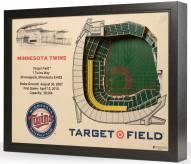Minnesota Twins 25-Layer StadiumViews 3D Wall Art