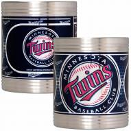 Minnesota Twins Stainless Steel Hi-Def Coozie Set