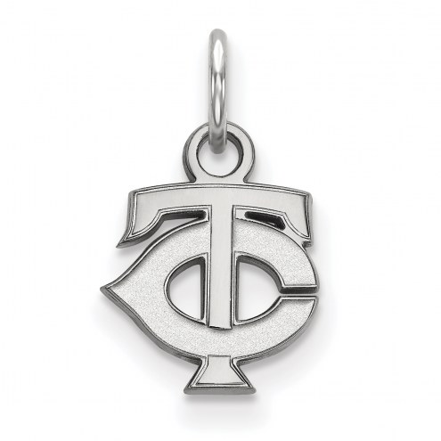 Minnesota Twins Sterling Silver Extra Small Pendant