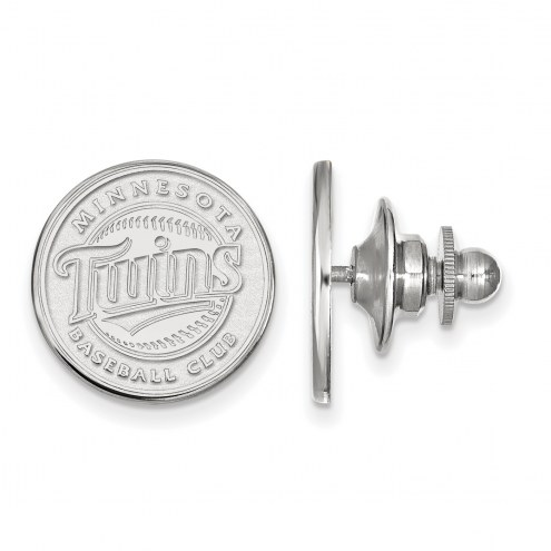 Minnesota Twins Sterling Silver Lapel Pin