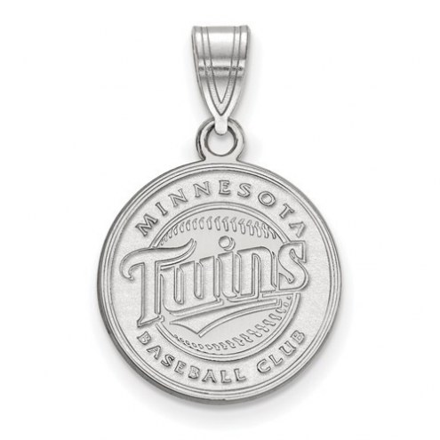 Minnesota Twins Sterling Silver Medium Pendant