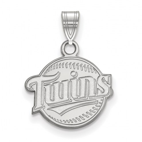 Minnesota Twins Sterling Silver Small Pendant