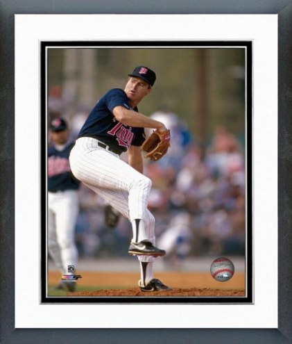 Minnesota Twins Steve Carlton Action Framed Photo