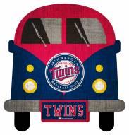 Minnesota Twins Team Bus Sign