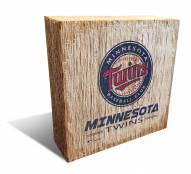 Minnesota Twins Team Logo Block
