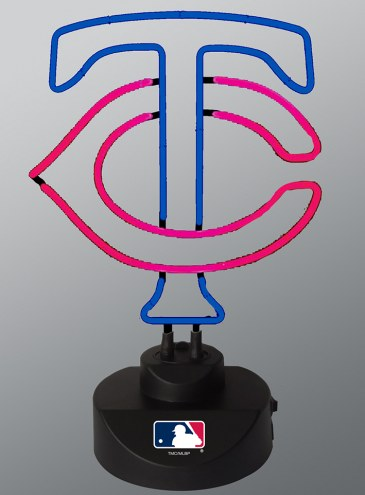 Minnesota Twins Team Logo Neon Lamp