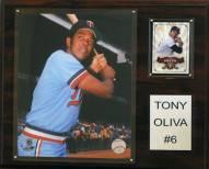 "Minnesota Twins Tony Oliva 12"" x 15"" Player Plaque"
