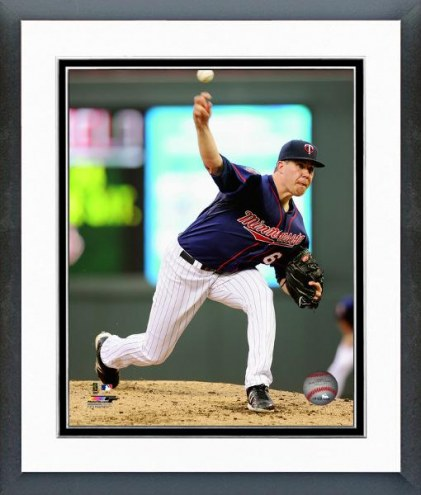 Minnesota Twins Trevor May Action Framed Photo
