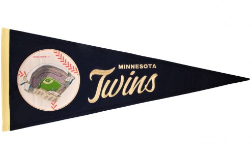 Minnesota Twins Vintage Ballpark Traditions Pennant