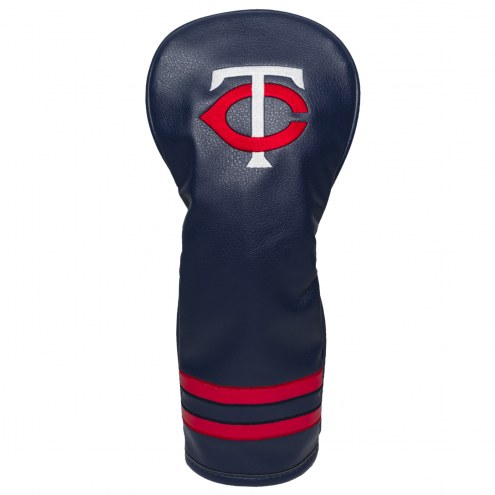 Minnesota Twins Vintage Golf Fairway Headcover