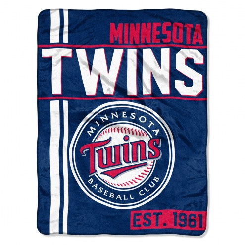 Minnesota Twins Walk Off Throw Blanket