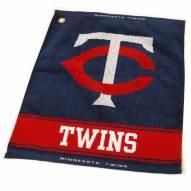 Minnesota Twins Woven Golf Towel