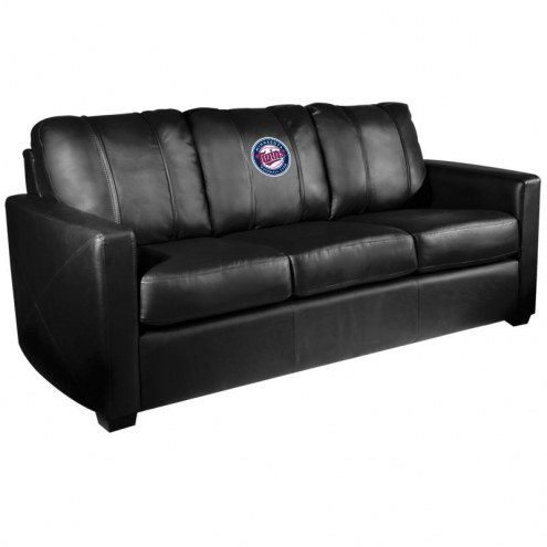 Minnesota Twins XZipit Silver Sofa