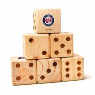 Minnesota Twins Yard Dice