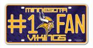 Minnesota Vikings #1 Fan License Plate