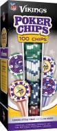 Minnesota Vikings 100 Poker Chips