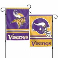 "Minnesota Vikings 11"" x 15"" Garden Flag"