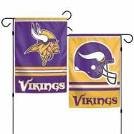 """Minnesota Vikings 11"""" x 15"""" Garden Flag"""