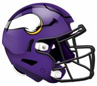 """Minnesota Vikings 12"""" Helmet Sign"""