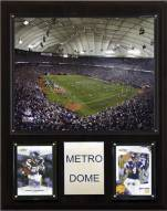 "Minnesota Vikings 12"" x 15"" Stadium Plaque"