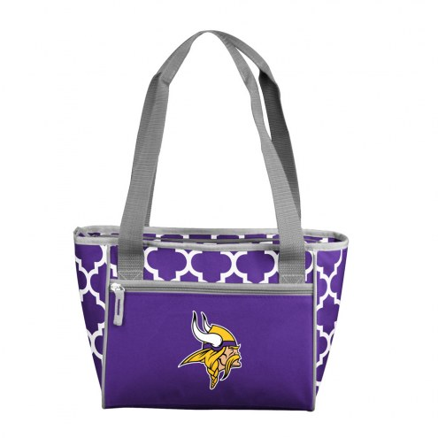 Minnesota Vikings 16 Can Cooler Tote
