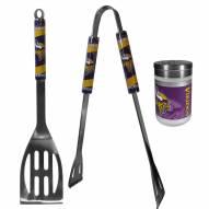 Minnesota Vikings 2 Piece BBQ Set with Season Shaker