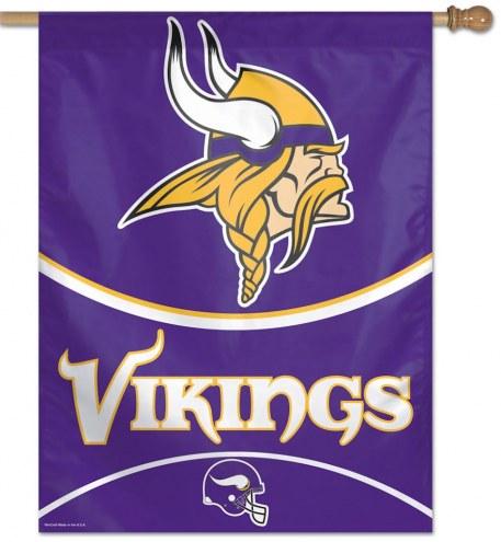 """Minnesota Vikings 27"""" x 37"""" Banner"""