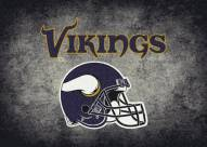 Minnesota Vikings 4' x 6' NFL Distressed Area Rug