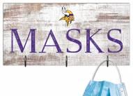 """Minnesota Vikings 6"""" x 12"""" Mask Holder"""