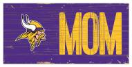 "Minnesota Vikings 6"" x 12"" Mom Sign"