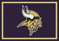Minnesota Vikings 6' x 8' NFL Team Spirit Area Rug
