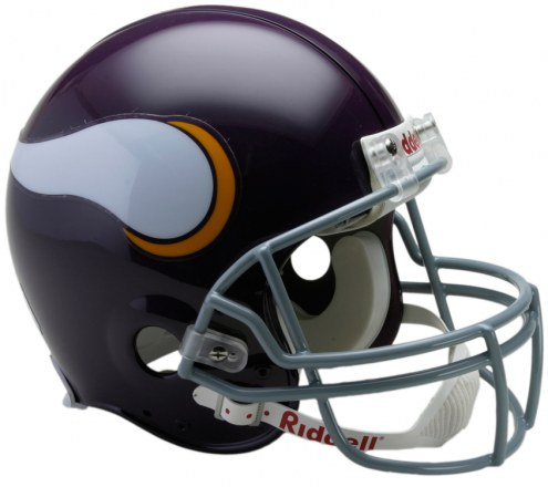 Minnesota Vikings 61-79 Riddell VSR4 Authentic Full Size Football Helmet