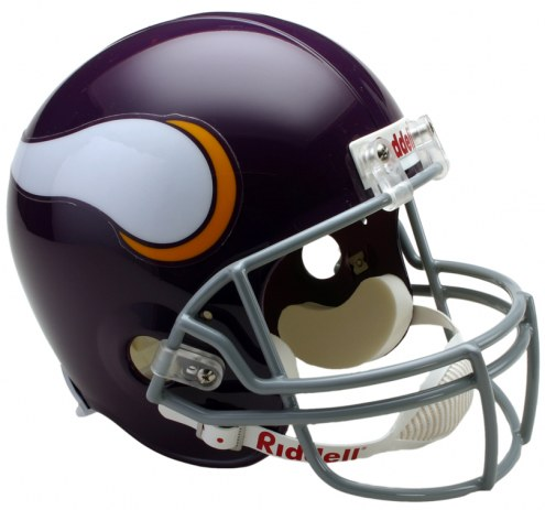 Minnesota Vikings 61-79 Riddell VSR4 Collectible Full Size Football Helmet