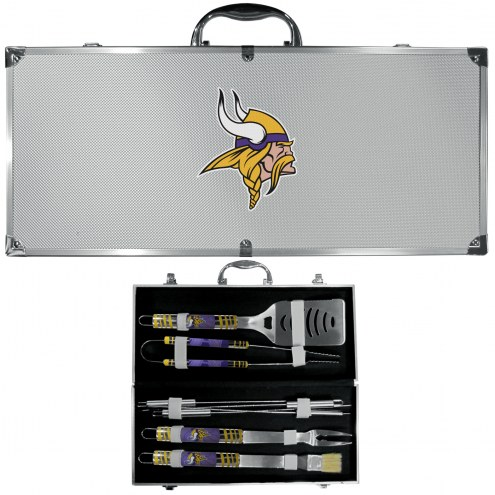 Minnesota Vikings 8 Piece Tailgater BBQ Set