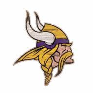 "Minnesota Vikings 8"" Team Logo Cutout Sign"