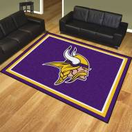 Minnesota Vikings 8' x 10' Area Rug