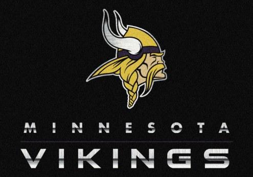 Minnesota Vikings 8' x 11' NFL Chrome Area Rug