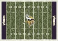 Minnesota Vikings 8' x 11' NFL Home Field Area Rug