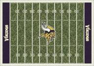 Minnesota Vikings 8' x 11' NFL Home Field Area Rug