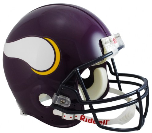 Minnesota Vikings 83-01 Riddell VSR4 Authentic Full Size Football Helmet