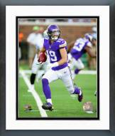 Minnesota Vikings Adam Thielen Action Framed Photo